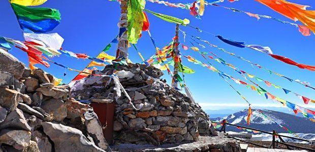 Molilne zastavice Tibet