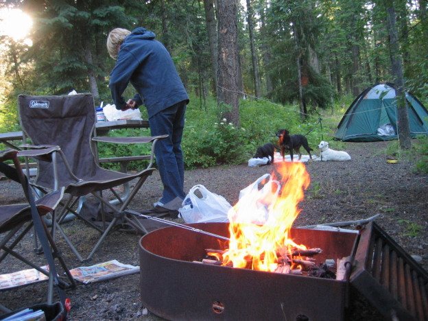 Kamp roštilj