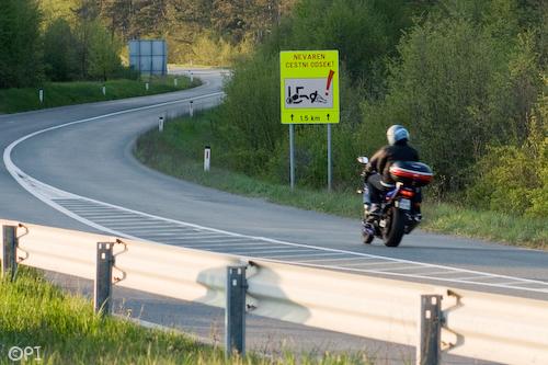 Moto oprema tudi za strastne dirkače
