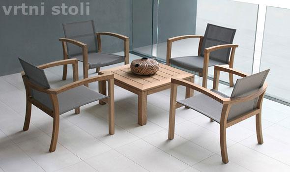 vrt in vrtni stoli