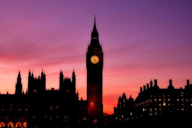 Big Ben v Veliki Britaniji