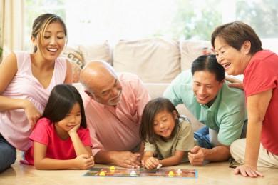 Namizne družabne igre za vse starosti