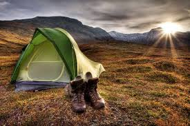 Kampiranje s šotorom, dober oddih