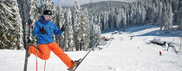 Šola smučanja, uči drsenja na snegu