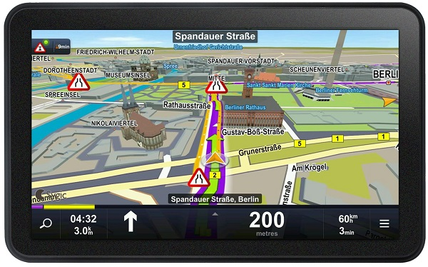 Navigacija Sygic za običajne in profesionalne uporabnike